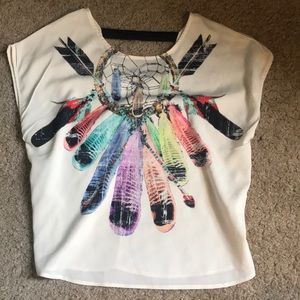 Adorable dream catcher shirt!